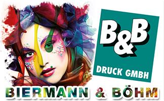 Logo Druckerei Biermann & Böhm