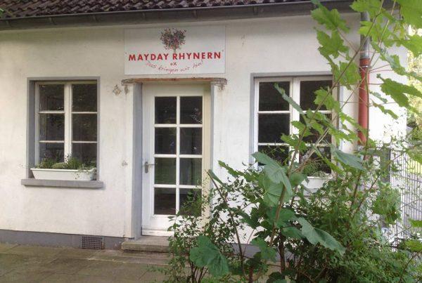 Mayday Rhynern, unser Gebäude vor Ort