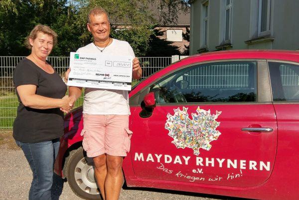 Spende an Mayday Rhynern e.V.