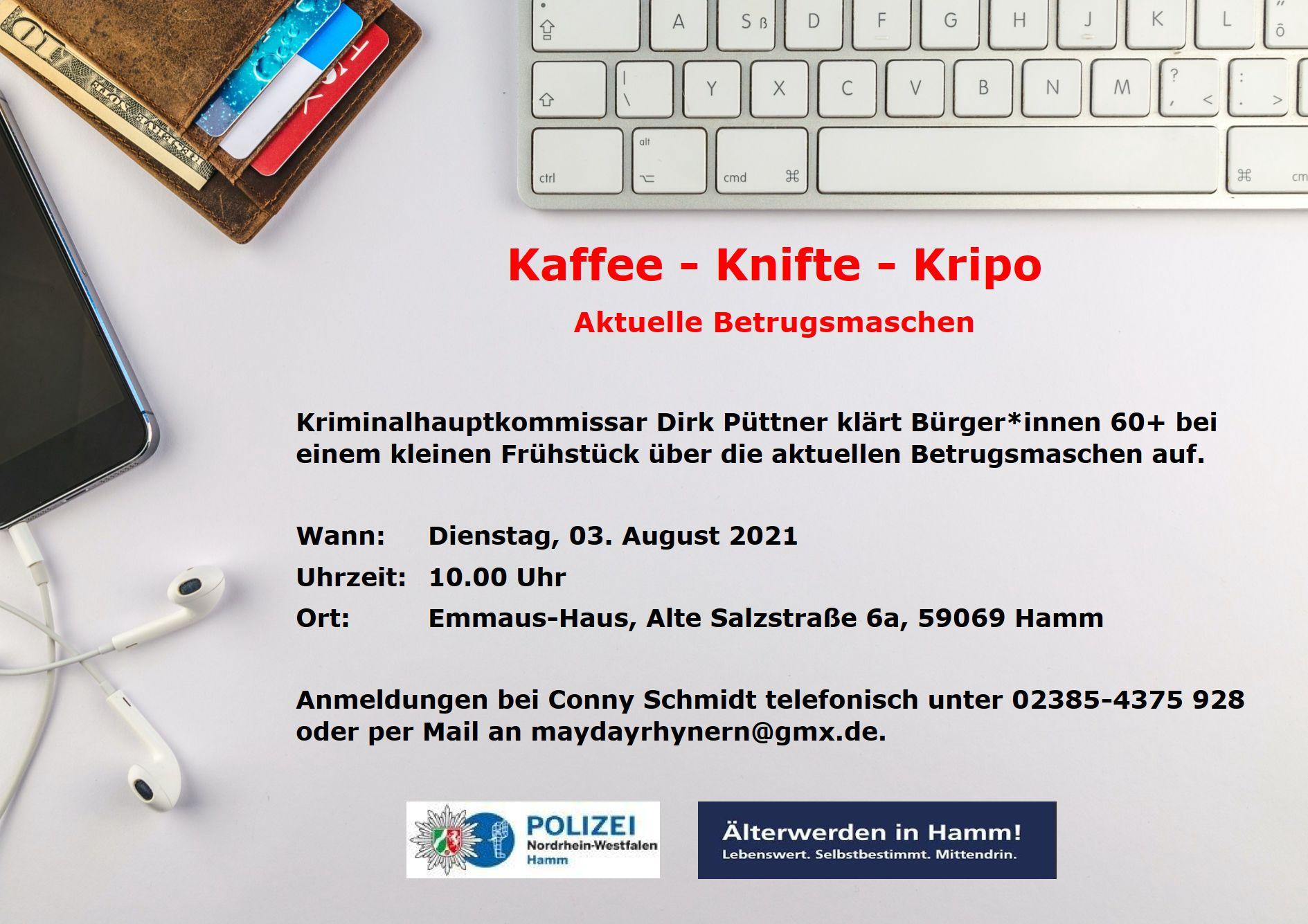 Kaffee – Knifte – Kripo